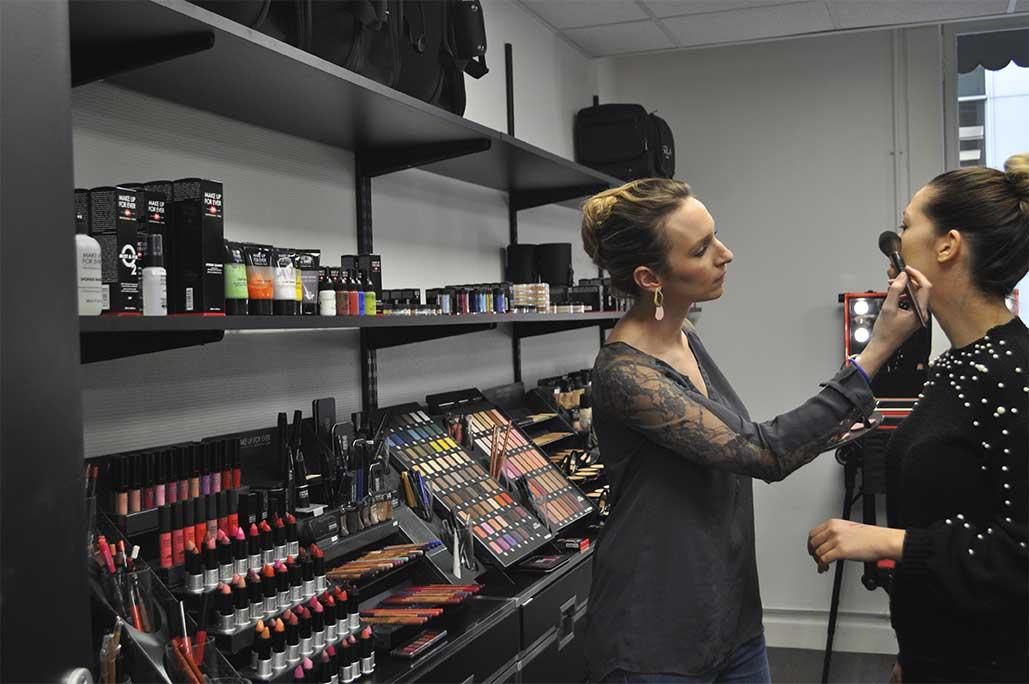 Atelier maquillage à la boutique Peyrefitte Make-up - 69002 Lyon
