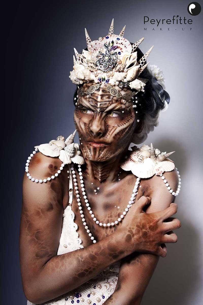 Make-up FX : création de prothèses personnage fantastique.