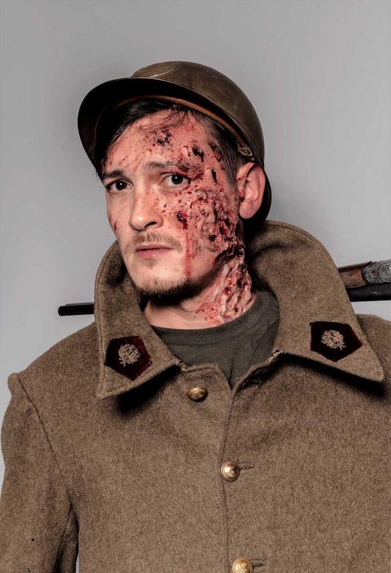 Maquillage effets spéciaux : hématomes, brûlures, coupures, griffures, faux sang…