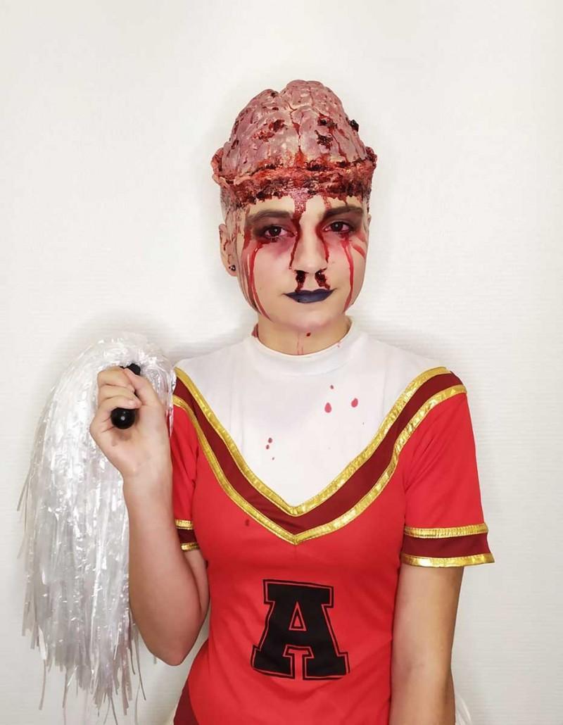 Amandine Ducret Concours Maquillage Halloween.