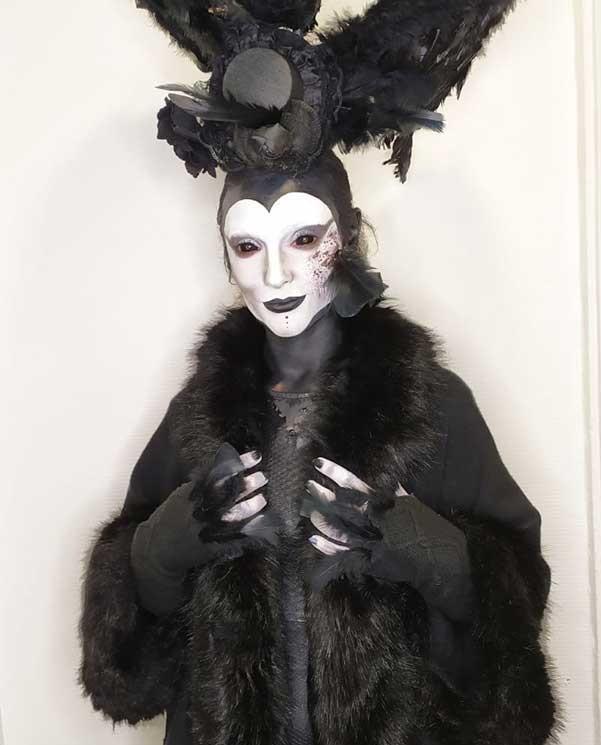 Aline Bruneaud 3ème place du concours Halloween.