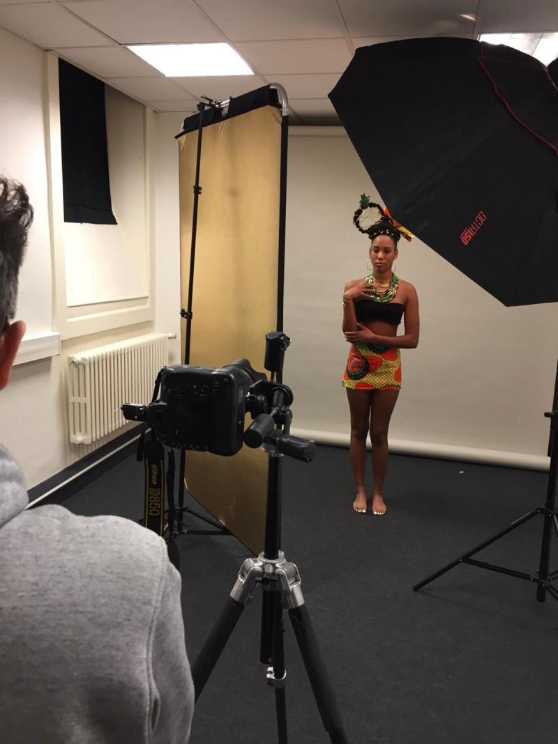 Shoot Photo avec Jean-Philippe Darbois sur le thème Maquillage Beauté Ethnique.